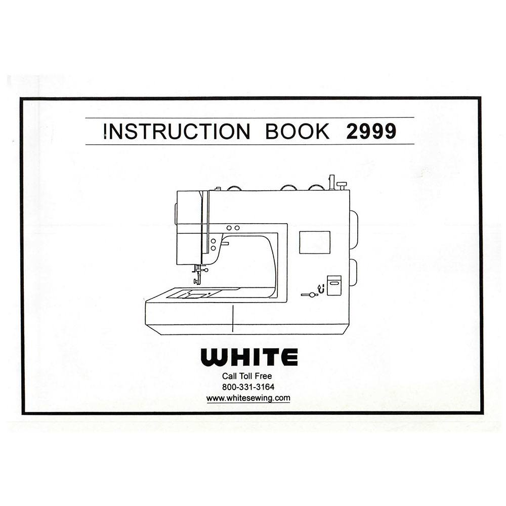 White Sewing Manual Free Machine Parts Diagram Worksheet Repair Array Instruction 2999 Online Rh Sewingpartsonline