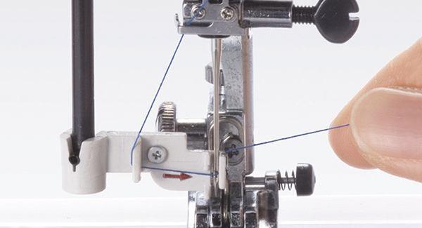 Built-in Needle Threader