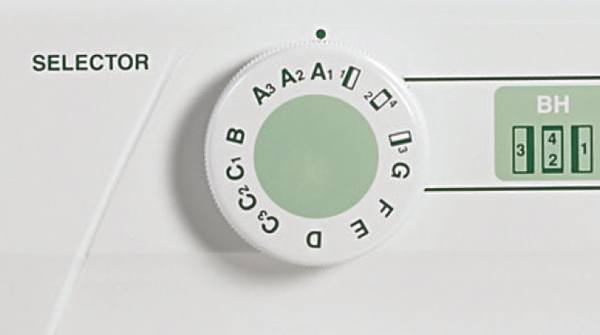 Stitch Selection Dial