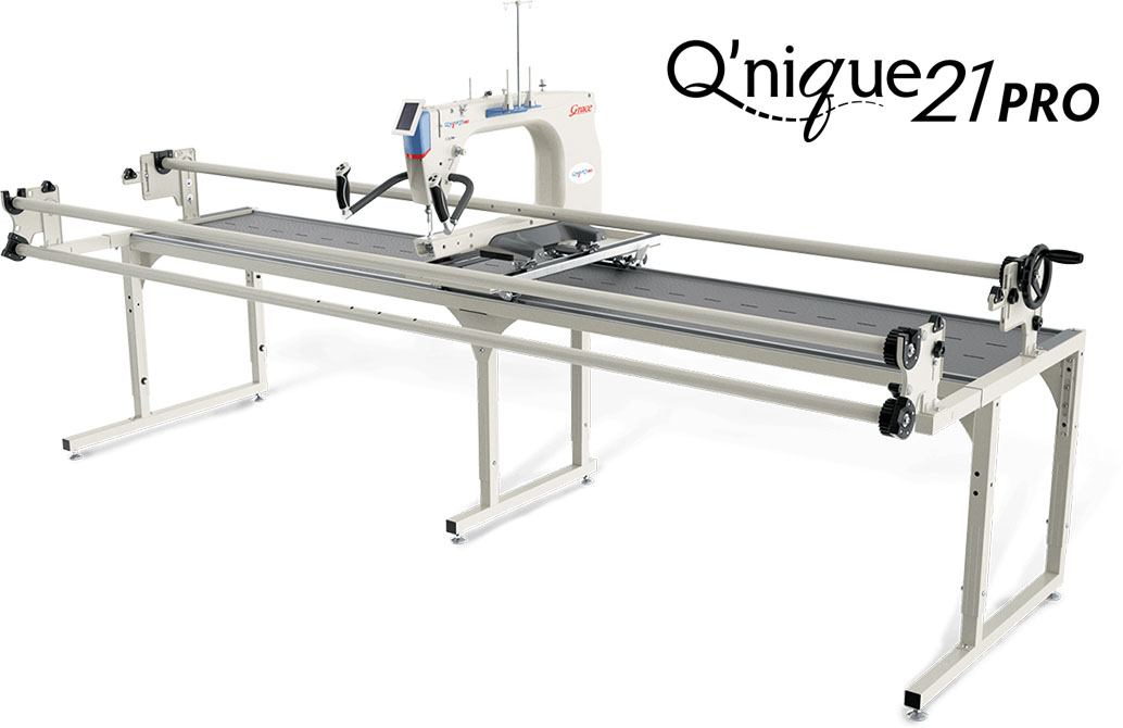 Q'nique 21 Pro Long Arm Quilting Machine